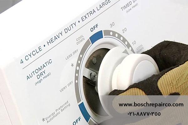 تعمیر تایمر ماشین لباسشویی بوش