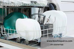 ماشین ظرفشویی بوش که تمیز نمی کند