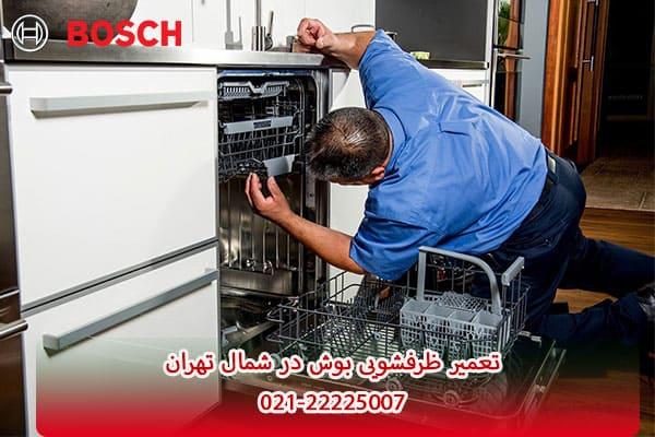 تعمیر ظرفشویی بوش شمال تهران